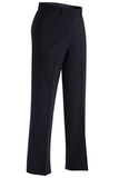 Women's Misses And Poly / Wool Plain Front Pant Navy Thumbnail