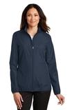 Women's Zephyr Full Zip Jacket Dress Blue Navy Thumbnail