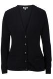 Women's Edwards V-neck Cardigan Sweater-tuff-pil Plus Navy Thumbnail