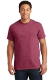 Ultra Cotton 100 Cotton T-shirt Heathered Cardinal Thumbnail