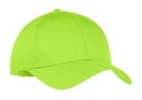 6-panel Twill Cap Lime Thumbnail