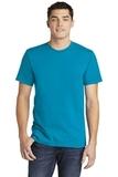 American Apparel Fine Jersey T-Shirt Teal Thumbnail