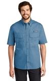 Eddie Bauer Short Sleeve Fishing Shirt Blue Gill Thumbnail