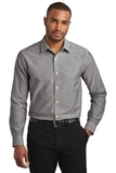 Slim Fit SuperPro Oxford Shirt Black Thumbnail