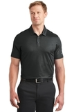 Nike Golf Dri-FIT Embossed Tri-Blade Polo Black Thumbnail