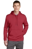 Performance Hooded Pullover Deep Red Thumbnail