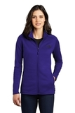 Women's The North Face Skyline Full-Zip Fleece Jacket Aztec Blue Thumbnail
