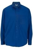 Men's Easy Care Poplin Shirt LS Royal Thumbnail