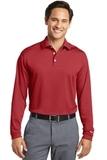 Nike Golf Shirt Long Sleeve Dri-FIT Stretch Tech Polo Varsity Red Thumbnail