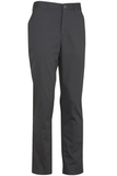 Edwards Men's Flat Front Slim Chino Pant Steel Grey Thumbnail