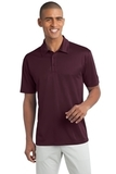 Legendary Sateen Moisture Wicking Polo Maroon Thumbnail