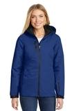 Women's Vortex Waterproof 3in1 Jacket Night Sky Blue with Black Thumbnail