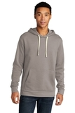Next Level Unisex Beach Fleece Pullover Hoodie Lead with Light Gray Thumbnail