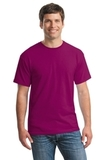 Heavy Cotton 100 Cotton T-shirt Berry Thumbnail