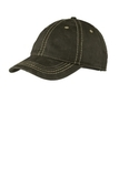 Pigment Print Distressed Cap Black Thumbnail
