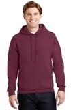 Super Sweats Pullover Hooded Sweatshirt Maroon Thumbnail