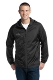 Eddie Bauer Packable Wind Jacket Black Thumbnail