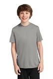 Youth Essential Performance Tee Grey Concrete Thumbnail