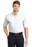 Short Sleeve Superpro Twill Shirt White Thumbnail