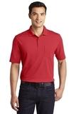 Dry Zone UV MicroMesh Pocket Polo Rich Red Thumbnail