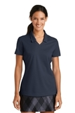 Women's Nike Golf Shirt Dri-FIT Micro Pique Polo Shirt Navy Thumbnail