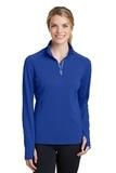 Women's Textured 1/4-Zip Pullover True Royal Thumbnail