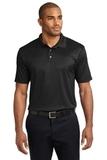 Performance Fine Jacquard Polo Shirt Black Thumbnail