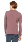 BELLACANVAS Unisex Jersey Long Sleeve Tee Heather Mauve Thumbnail