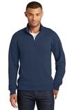 Fan Favorite Fleece 1/4 Zip Pullover Sweatshirt Team Navy Thumbnail