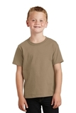 Youth 5.5-oz 100 Cotton T-shirt Sand Thumbnail