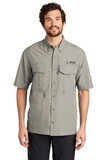 Eddie Bauer Short Sleeve Performance Fishing Shirt Driftwood Thumbnail
