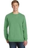 Essential Pigment-Dyed Crew-Neck Sweatshirt Safari Thumbnail