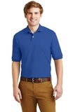 Spotshield 5.6-ounce Jersey Knit Polo Shirt Royal Thumbnail