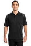 Snag Proof Pocket Polo Black with Charcoal Thumbnail