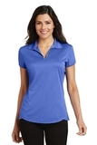 Women's Trace Heather Polo Shirt True Royal Heather Thumbnail