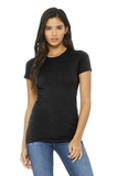 BELLACANVAS Women's The Favorite Tee Black Heather Thumbnail