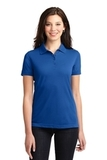 Women's 5-in-1 Performance Pique Polo Cobalt Blue Thumbnail