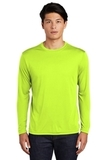 Competitor Long Sleeve Tee Neon Yellow Thumbnail