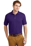 Ultra Blend 5.6-ounce Jersey Knit Sport Shirt Purple Thumbnail
