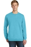 Essential Pigment-Dyed Crew-Neck Sweatshirt Tidal Wave Thumbnail