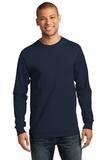 Essential Long Sleeve T-shirt Deep Navy Thumbnail