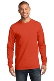 Essential Long Sleeve T-shirt Orange Thumbnail