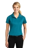 Women's Micropique Moisture Wicking Polo Shirt Tropic Blue Thumbnail
