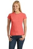 Women's Softstyle Ring Spun Cotton T-shirt Heather Orange Thumbnail