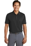 Nike Golf Dri-FIT Smooth Performance Modern Fit Polo Black Thumbnail