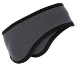 Two-color Fleece Headband Midnight Heather Thumbnail