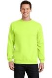 7.8-oz Crewneck Sweatshirt Neon Yellow Thumbnail