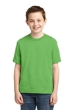 Youth 50/50 Cotton / Poly T-shirt Kiwi Thumbnail