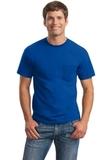 Ultra Cotton 100 Cotton T-shirt With Pocket Royal Thumbnail
