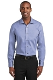 Red House Slim Fit Pinpoint Oxford Non-Iron Shirt Vintage Navy Thumbnail